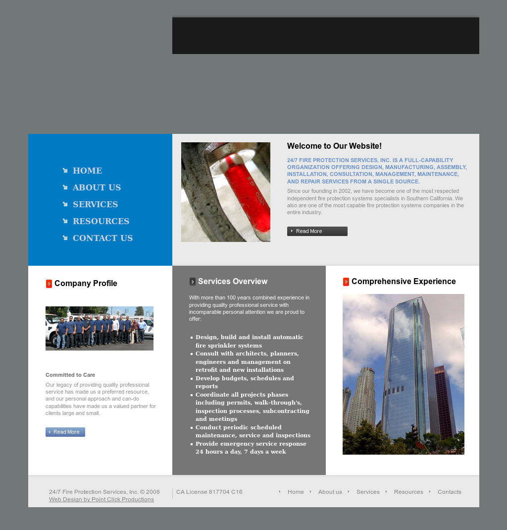24/7 FIRE PROTECTION SERVICES Competitors, Revenue and
