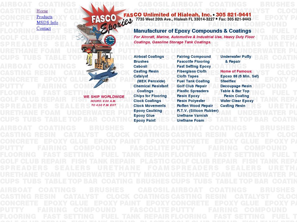 Fascoepoxies Competitors, Revenue and Employees - Owler Company Profile