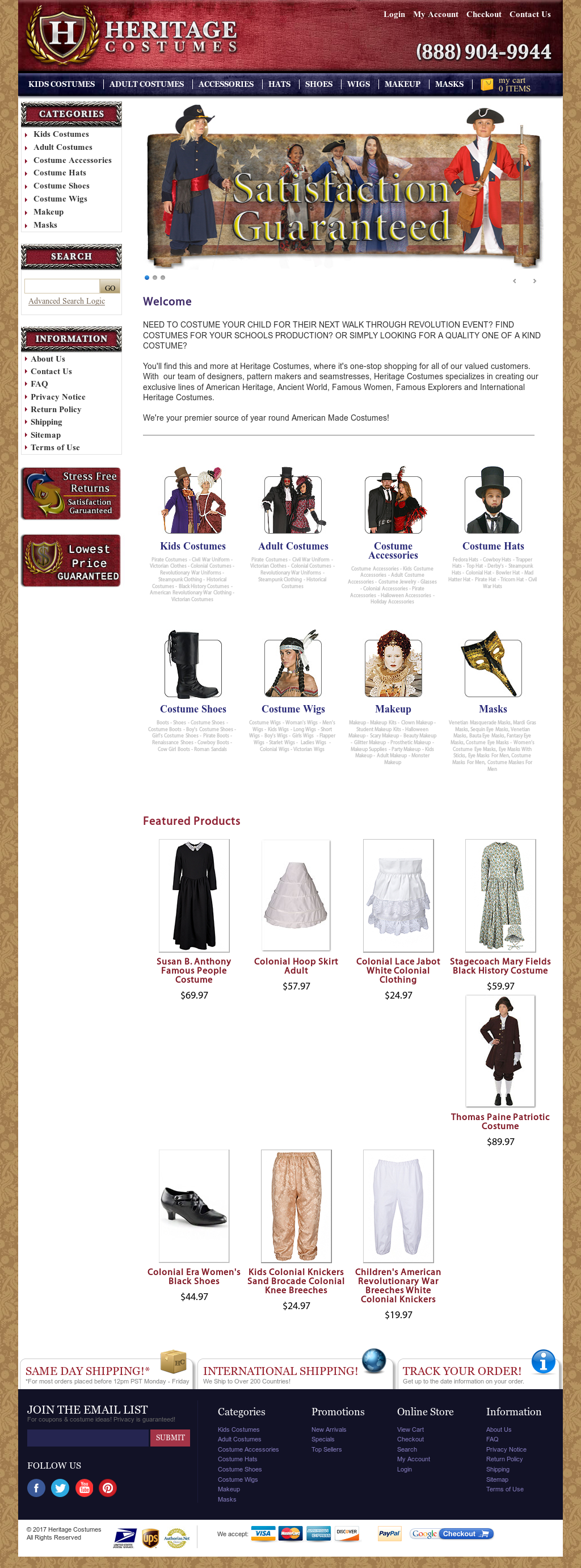 Heritagecostumes Competitors, Revenue and Employees - Owler Company