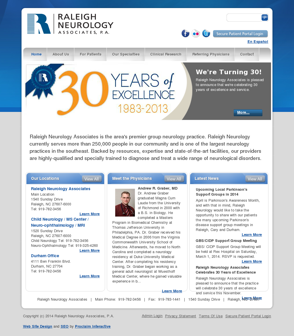 Raleigh Nurology Asociates Competitors, Revenue and Employees