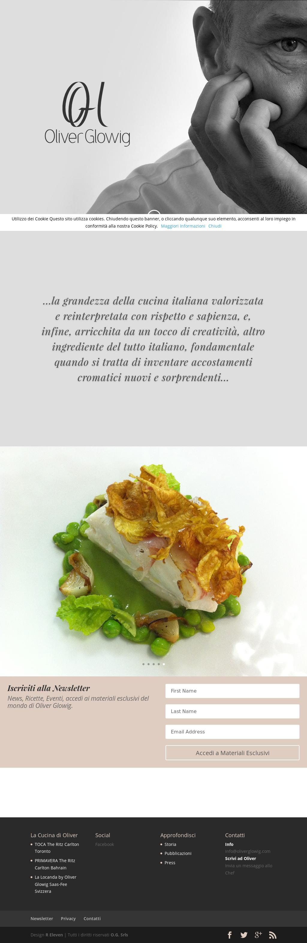 Accostamenti In Cucina ristorante oliver glowig competitors, revenue and employees