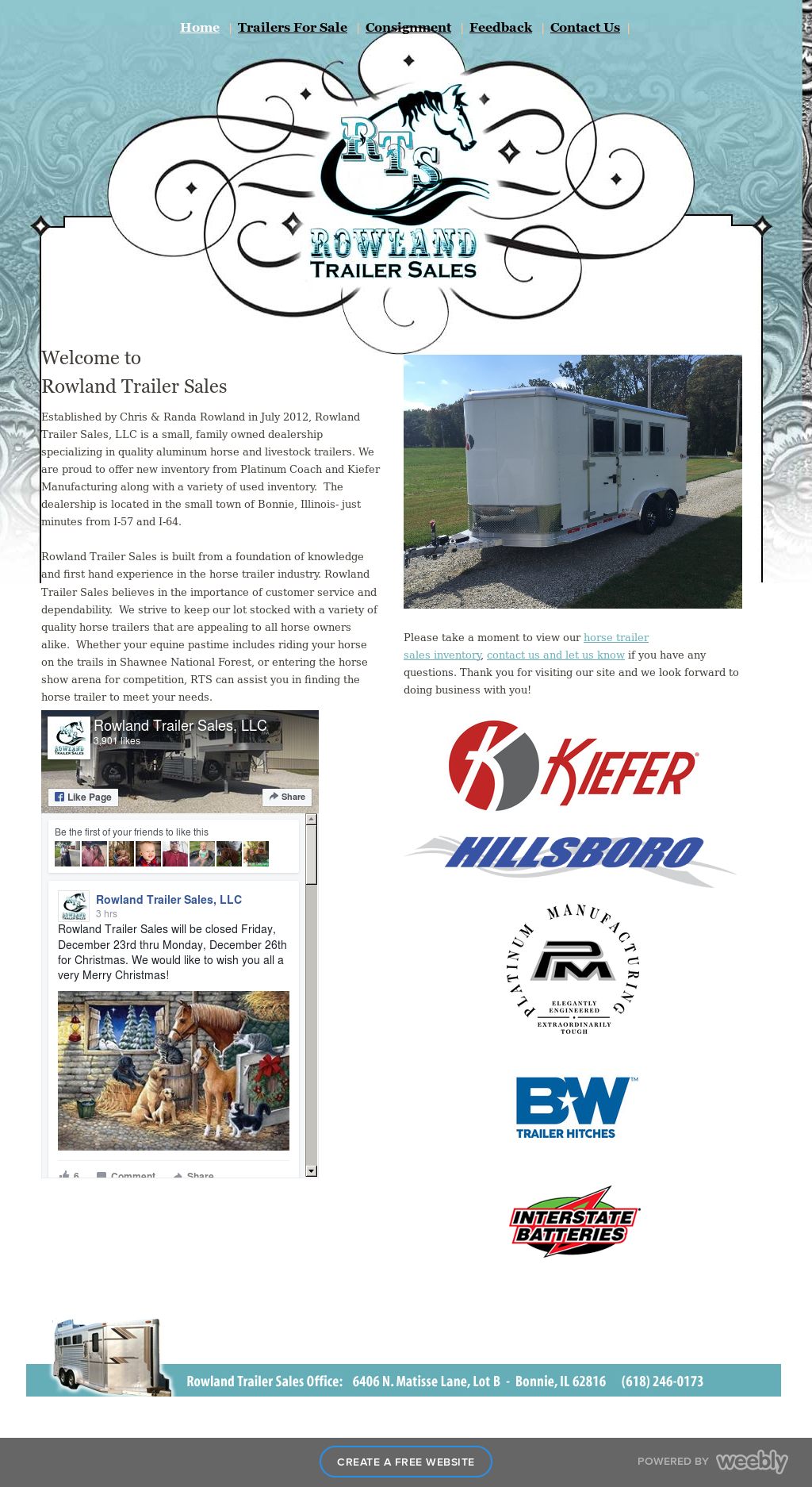 Rowland Trailer Sales Competitors, Revenue and Employees