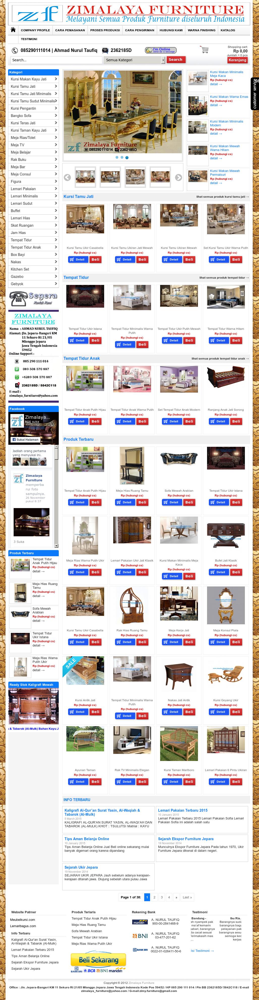 Owler Reports Zimalaya Furniture Blog Kaligrafi Al Quran