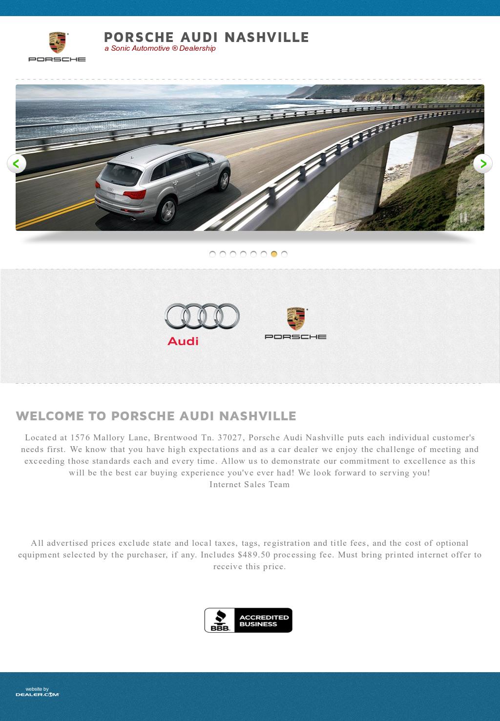 Jaguar Porsche Audi Nashville Competitors Revenue And Employees - Audi nashville