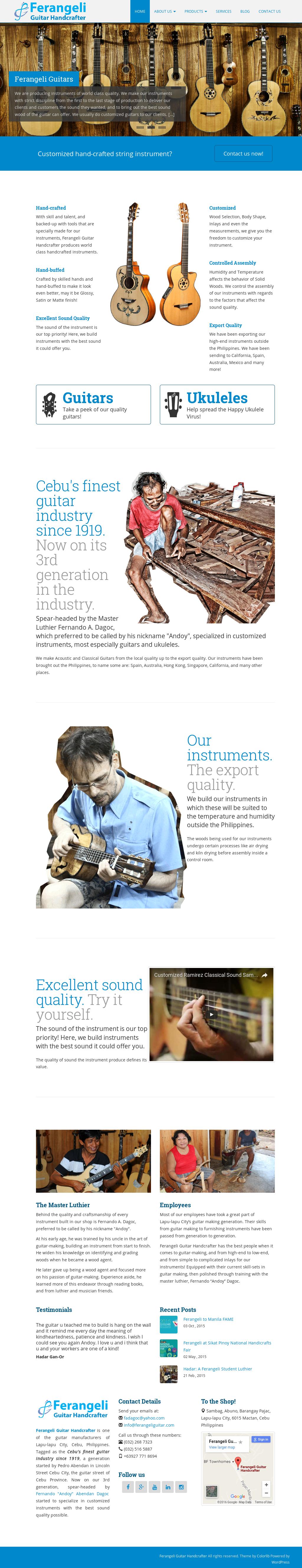 Ferangeli Guitar Handcrafter Competitors, Revenue and Employees