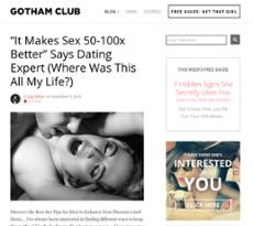 Gotham dating club Bewertungen Kostenlose Dating-Seiten uk für Alleinerziehende
