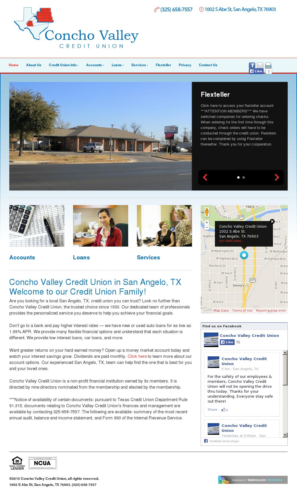 Concho Valley Credit Union Competitors Revenue And