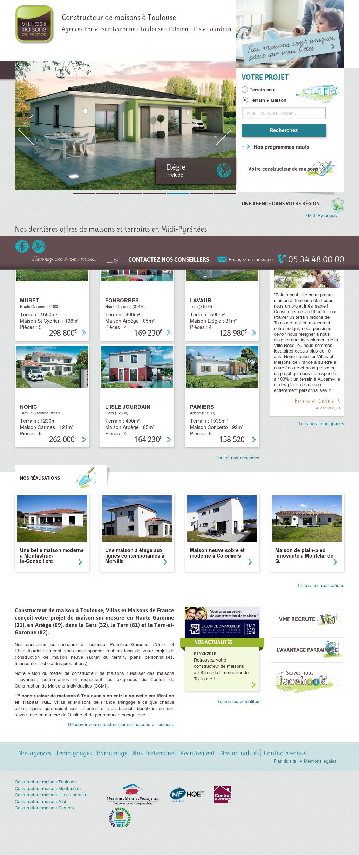 Constructeur De Maison Gers villas et maisons de france competitors, revenue and