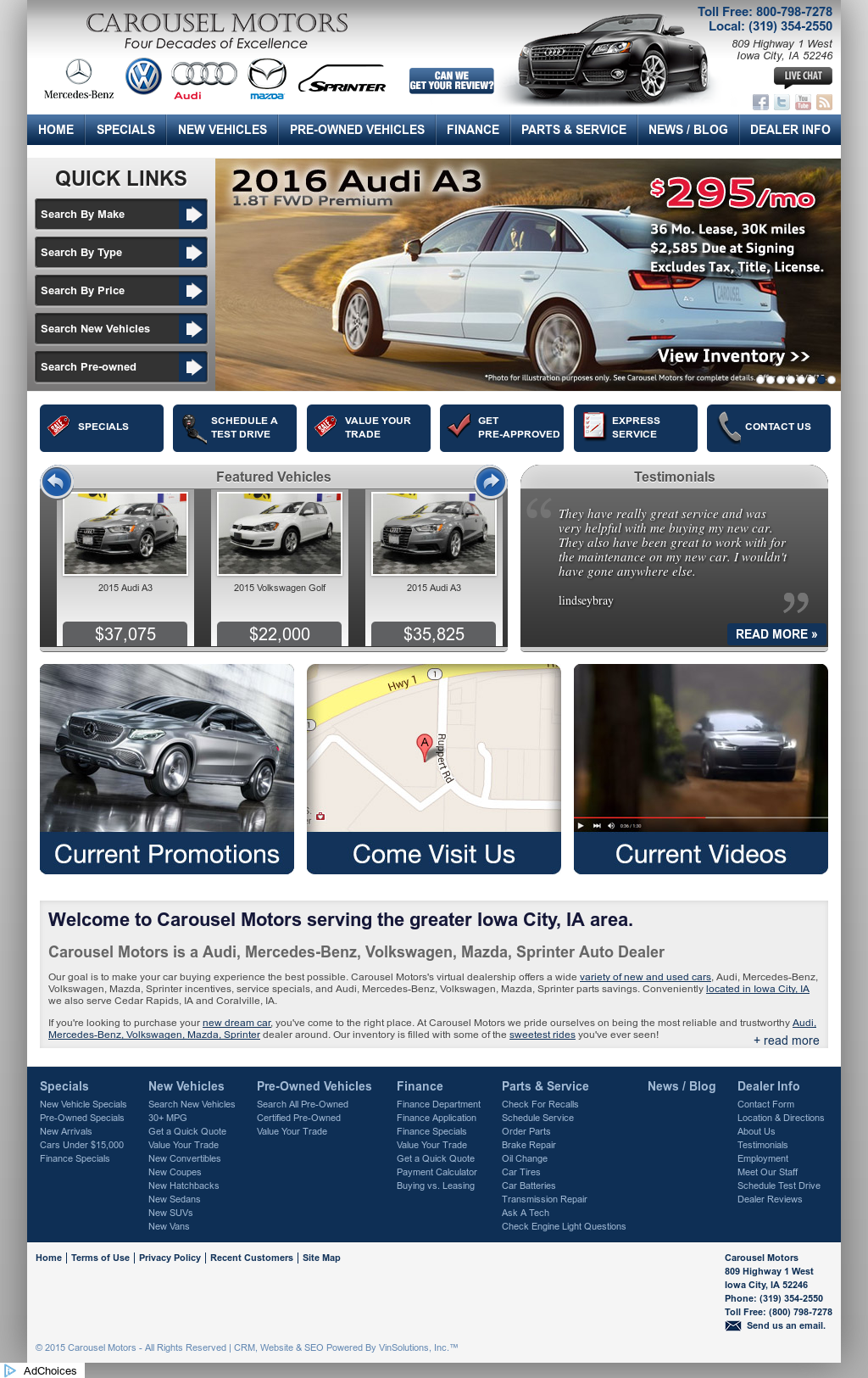 Carousel Motors Iowa City >> Carousel Motors Iowa City Ia - impremedia.net