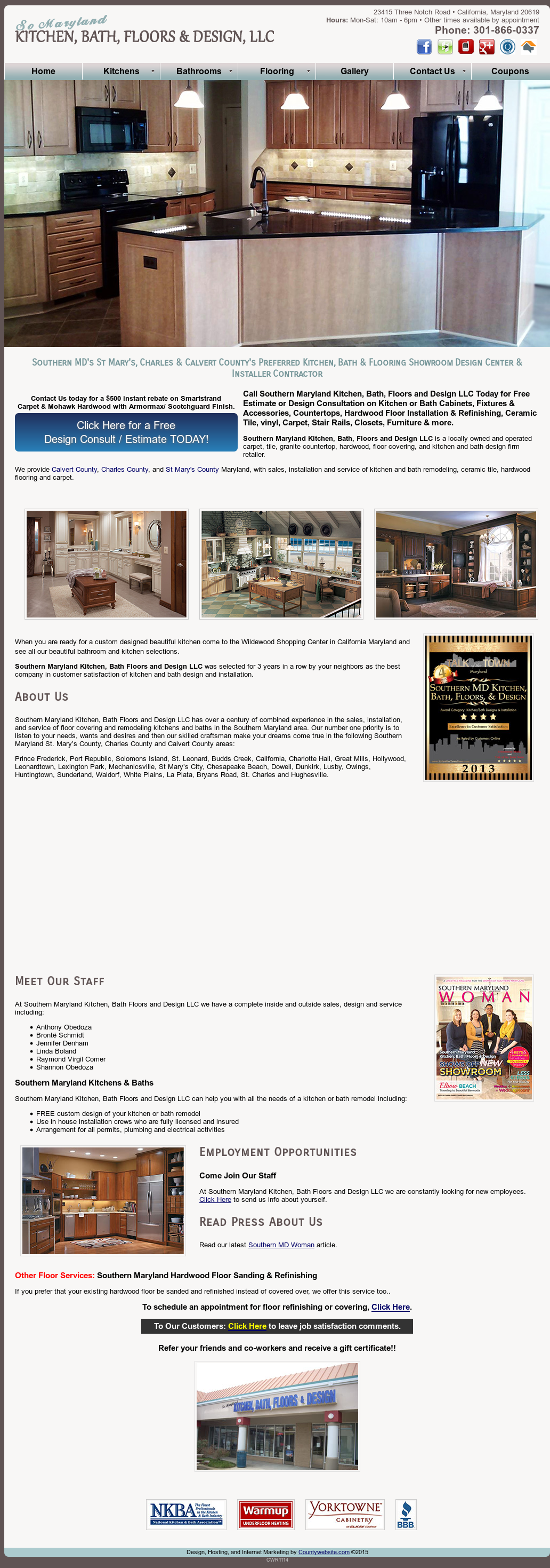 Southern Maryland Kitchen, Bath, Floors & Design Competitors ...