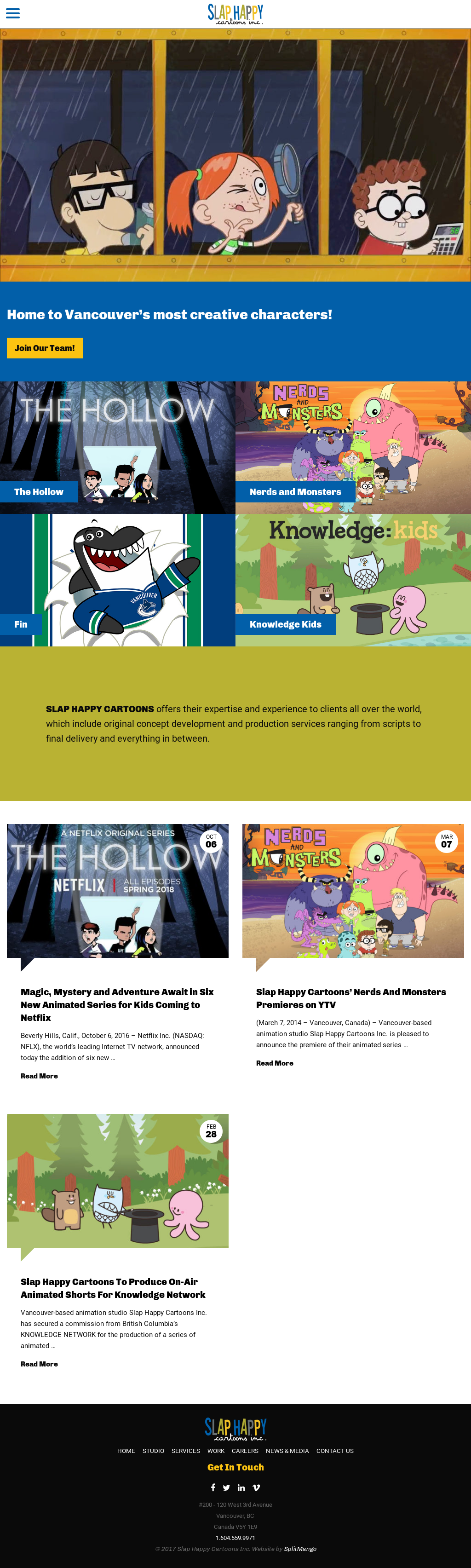Slap Happy Cartoons Competitors Revenue And Employees Owler