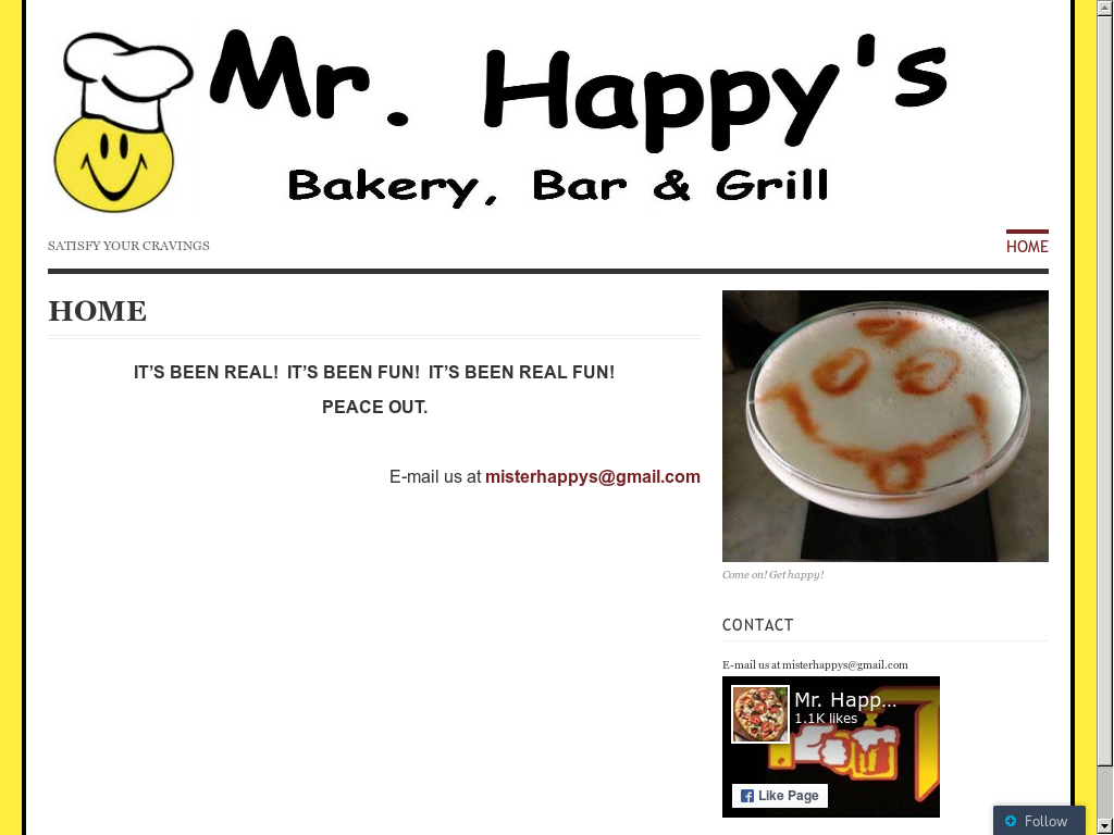 Mr  Happy's Bakery, Bar & Grill Competitors, Revenue and