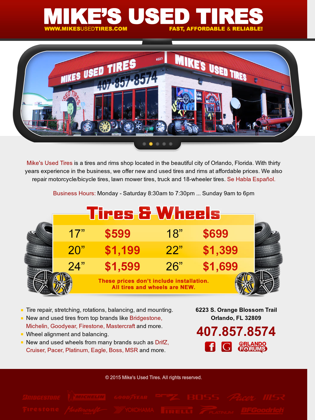 Used Tires Orlando >> Mike S Used Tires Competitors Revenue And Employees Owler Company
