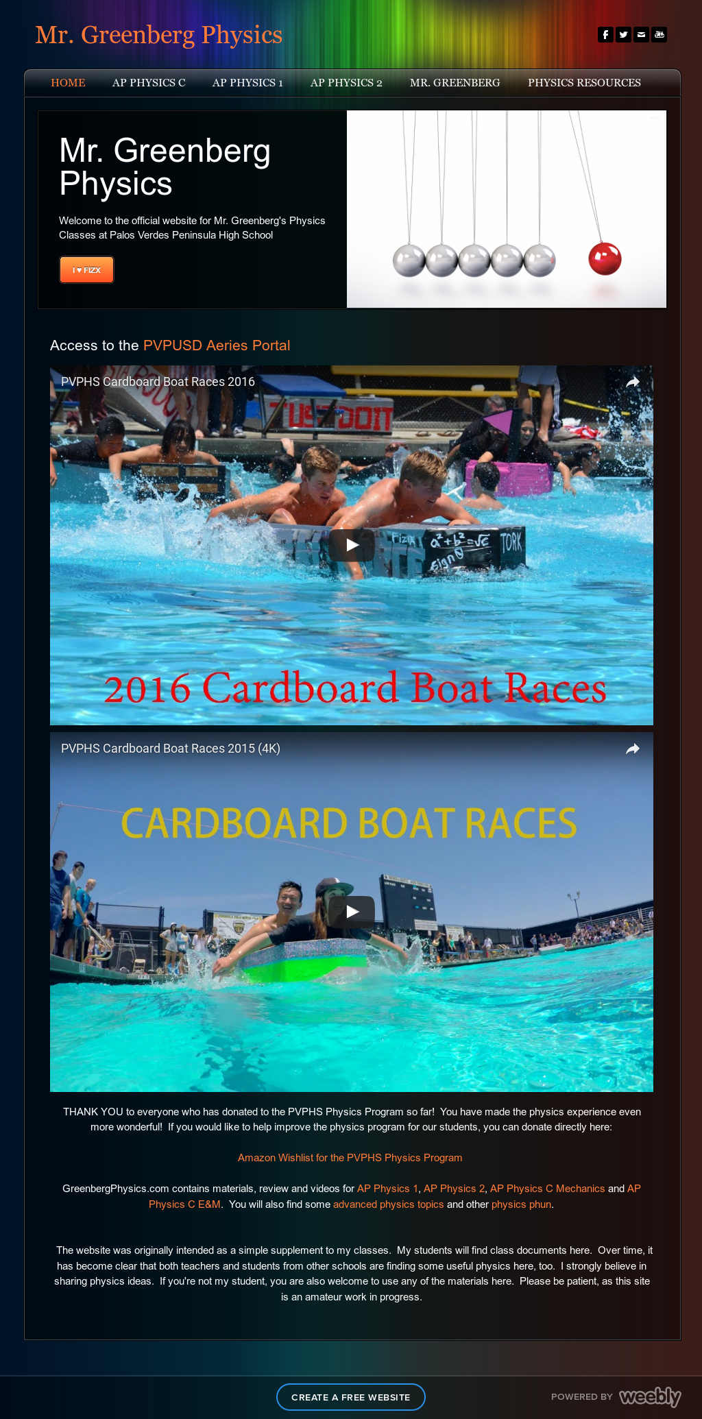 Pen High Physics Boat Races Competitors, Revenue and