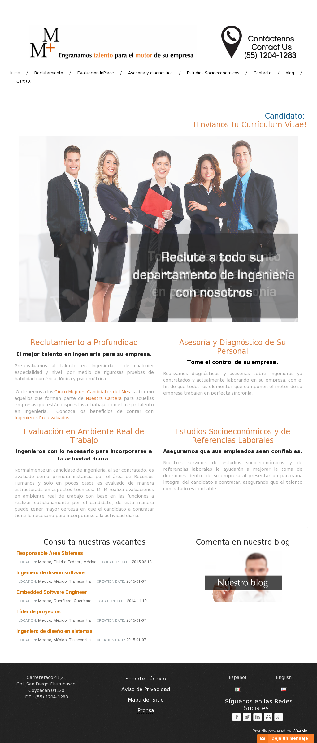 M+m Reclutamiento Especializado En Ingenieria Competitors, Revenue ...