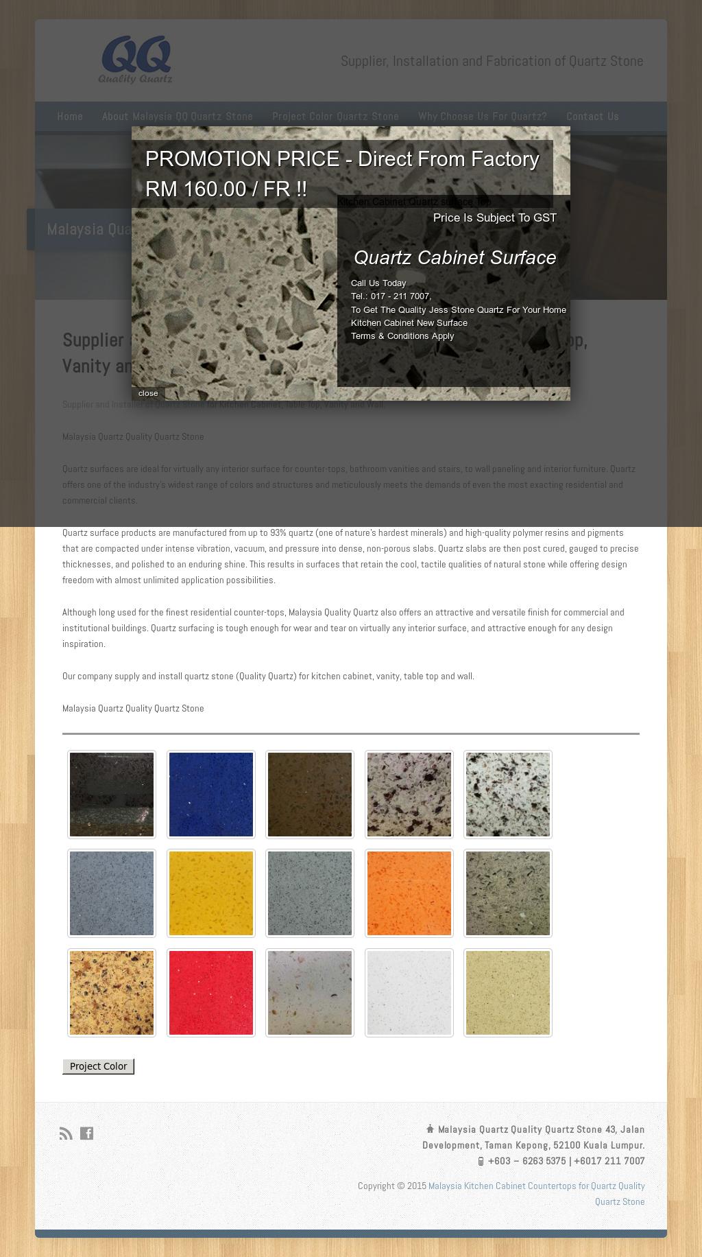 Malaysia Kitchen Cabinet Quartz Marble Granite Solid Surface ...