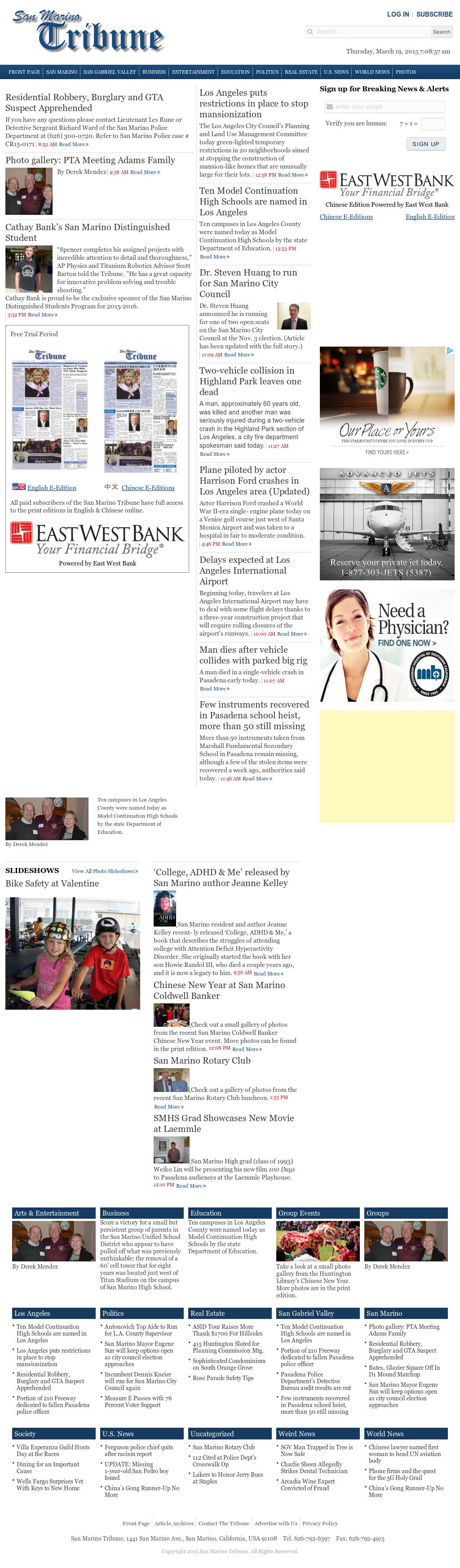 San Marino Tribune Competitors, Revenue and Employees - Owler