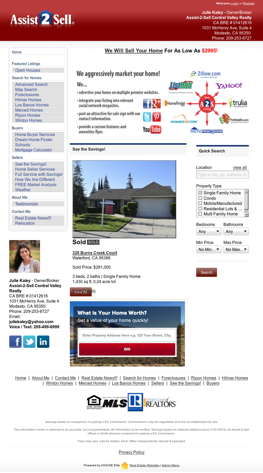Assist 2 Sell Central Valley Realty Competitors, Revenue and
