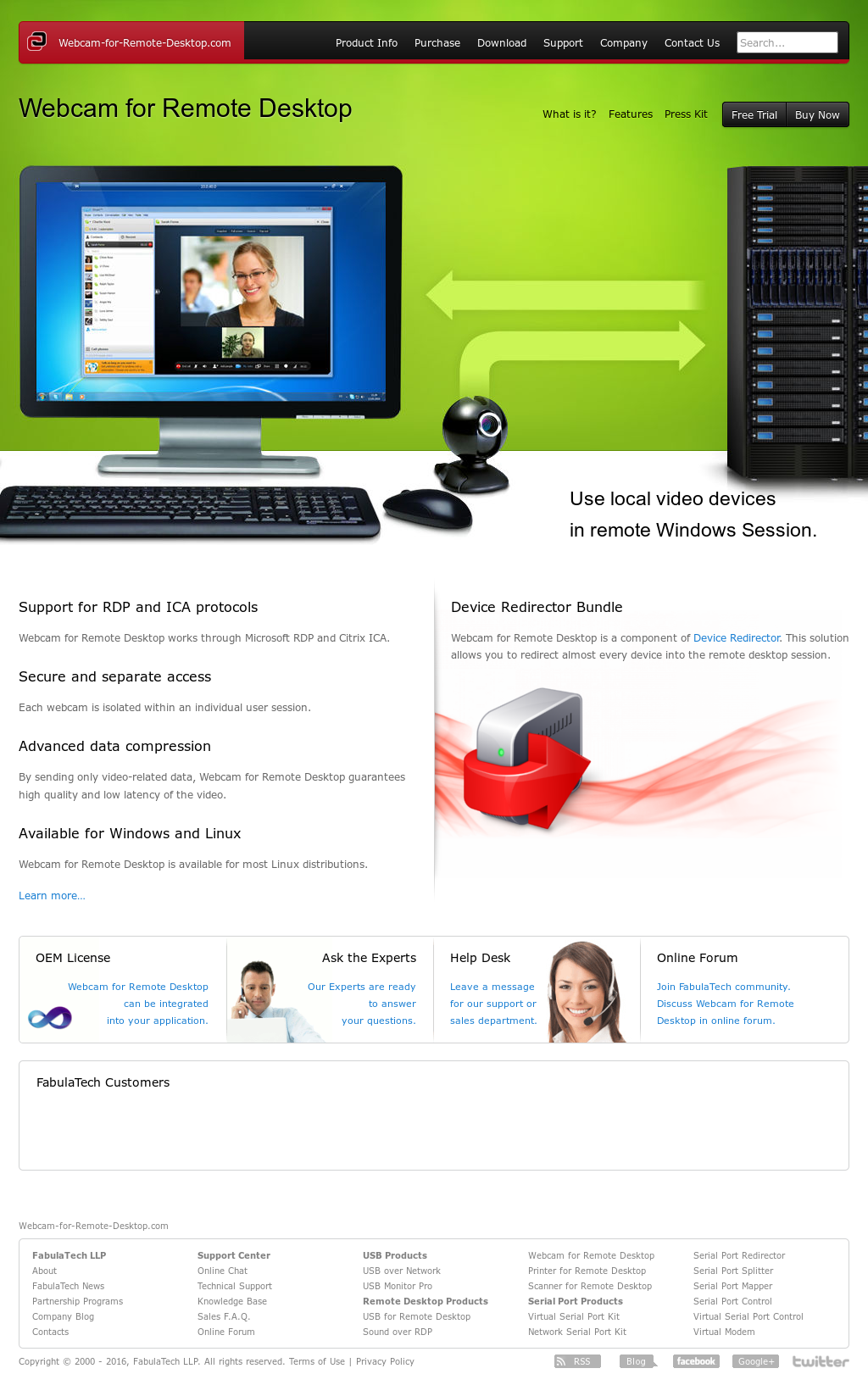 Webcam For Remote Desktop Competitors, Revenue and Employees
