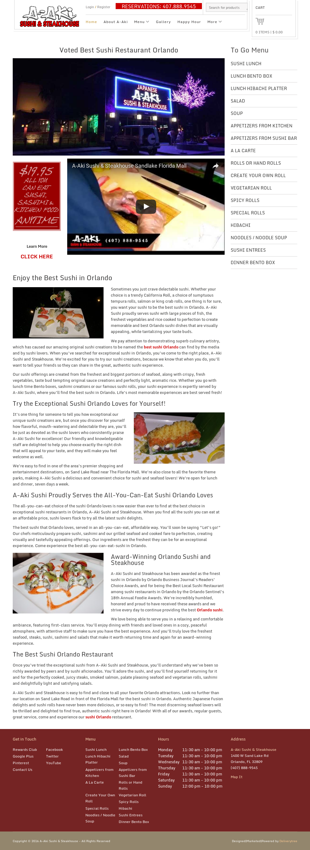 A-aki Sushi & Steakhouse Competitors, Revenue and Employees - Owler ...