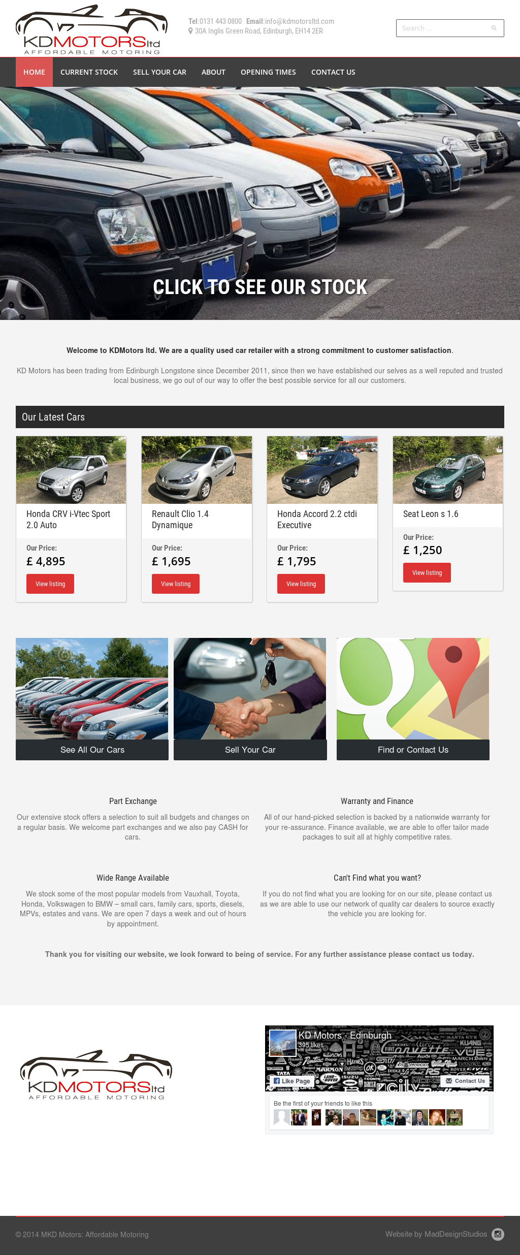 Kd Motors website history