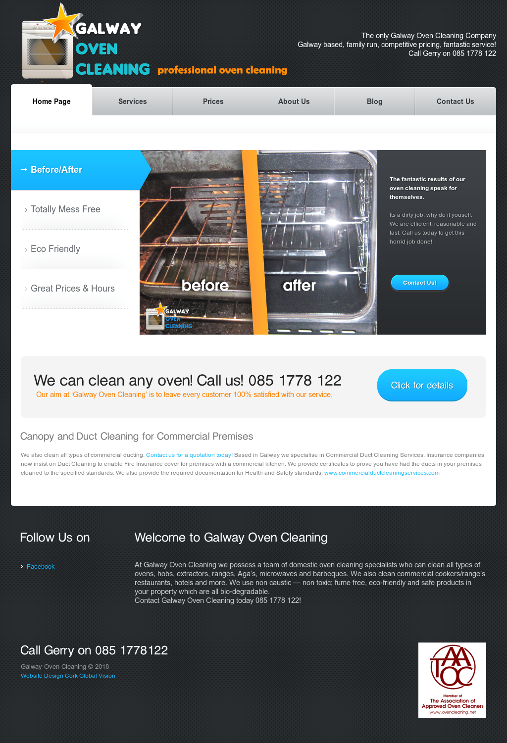 Galway Oven Cleaning Competitors, Revenue and Employees