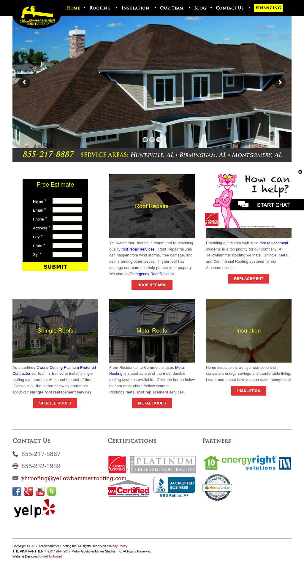 Yellowhammer Roofing Alabama & Bryce Curtis Shared Sc 1 St