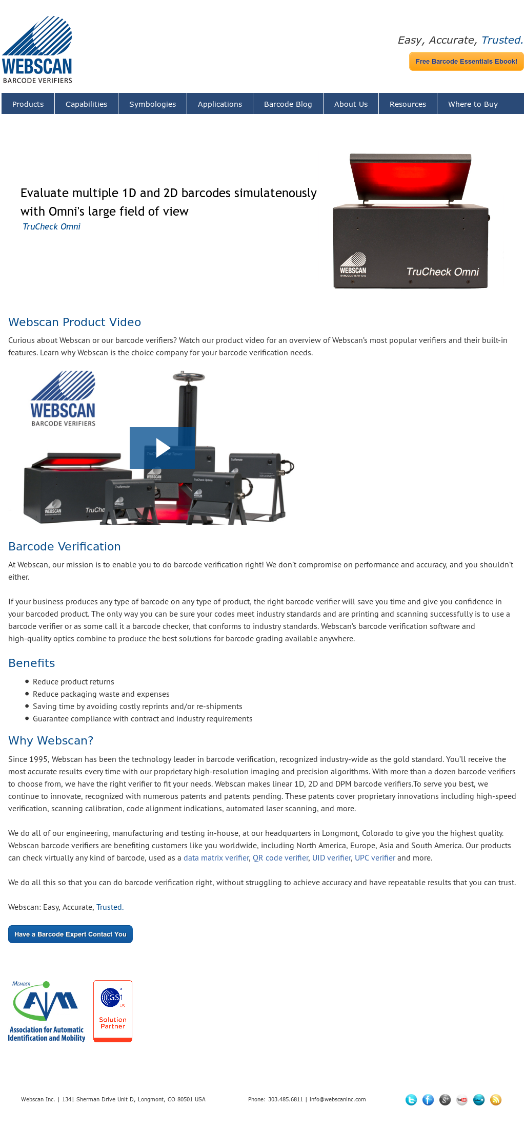 Barcode Verification webscaninc competitors, revenue and employees - owler