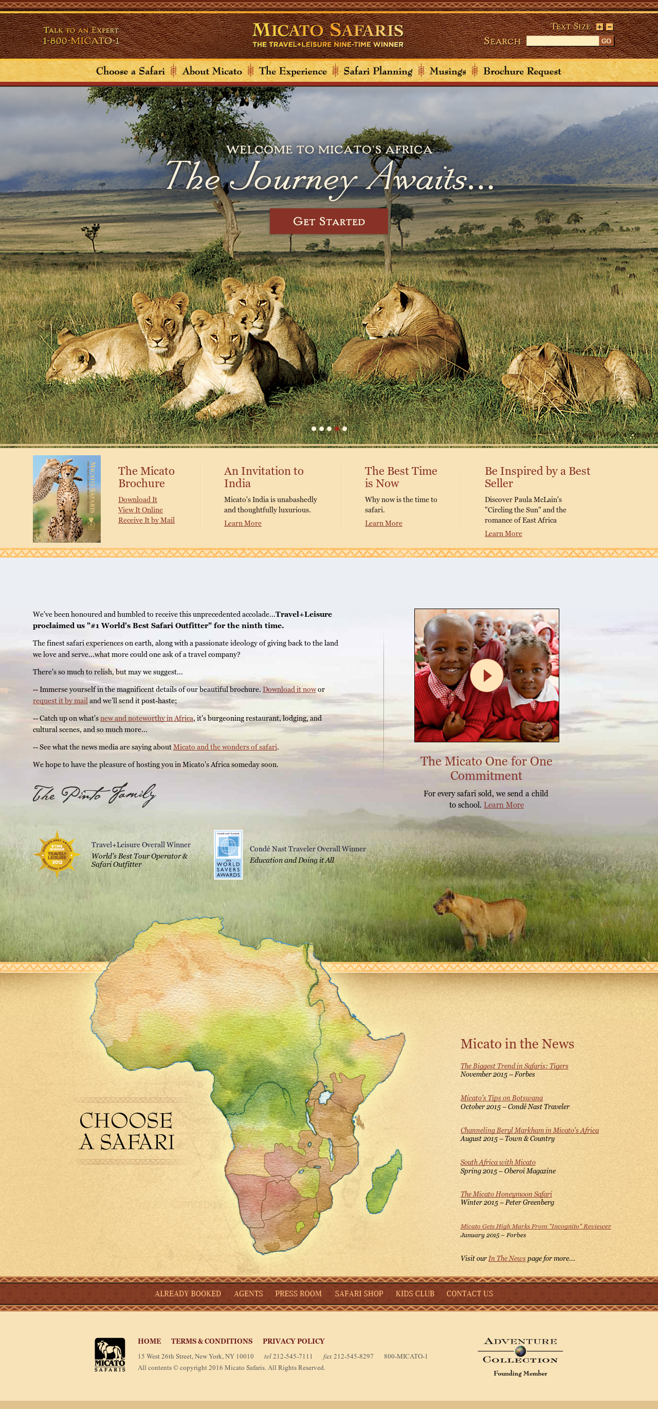 Micato Safaris Competitors, Revenue and Employees - Owler