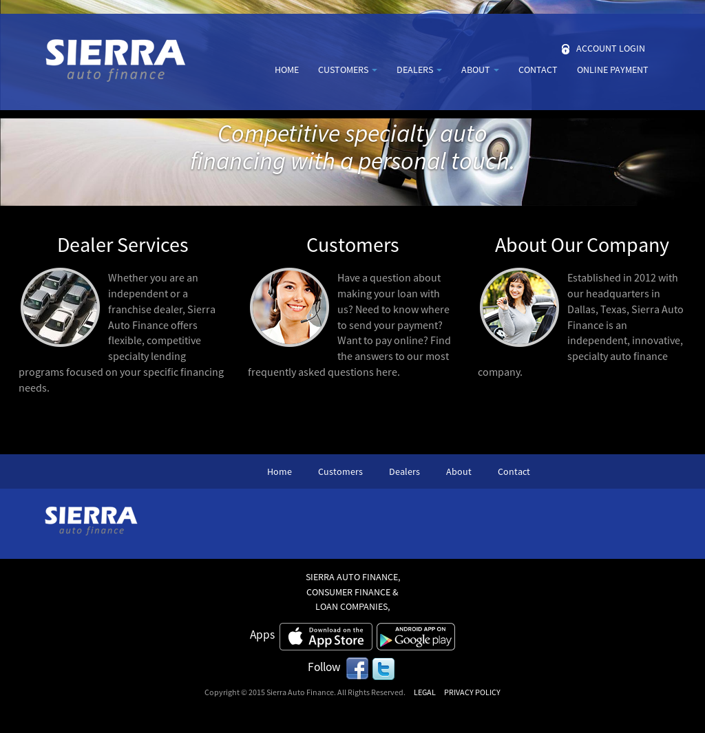Sierra Auto Finance >> Sierra Competitors Revenue And Employees Owler Company