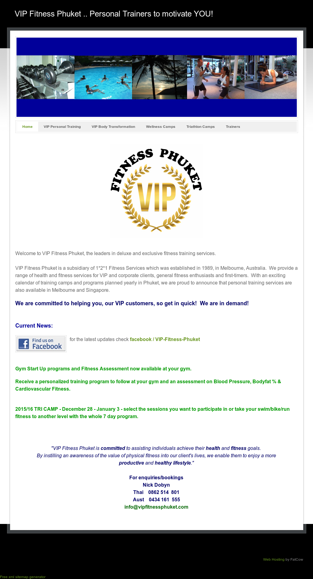 vip fitness phuket competitors revenue and employees owler