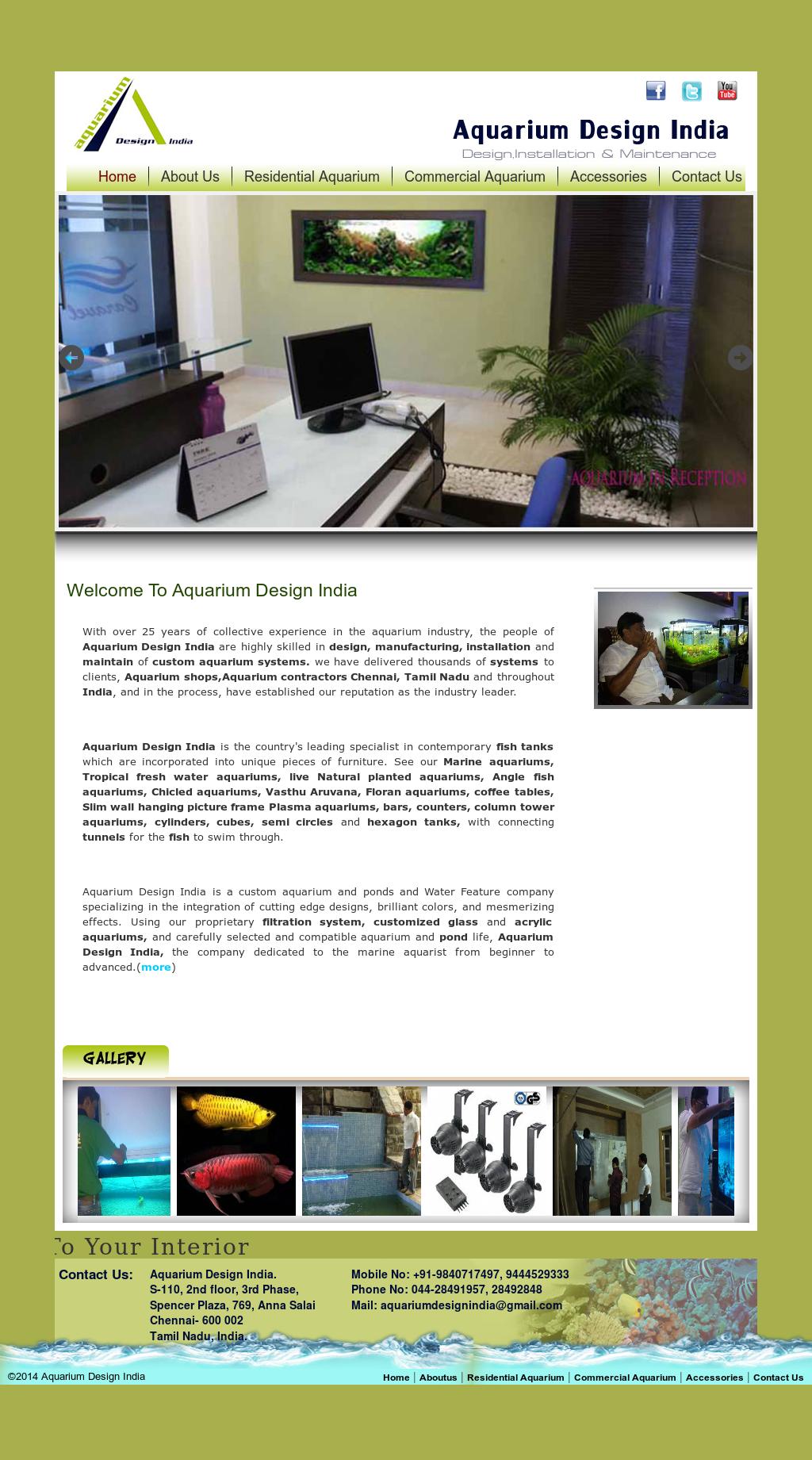 Aquarium Design India Competitors Revenue And Employees