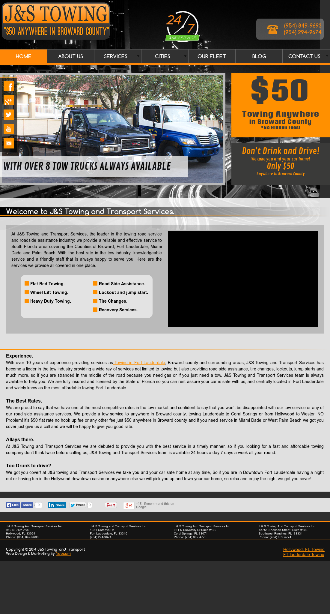J & S Towing >> J S Towing Services Competitors Revenue And Employees