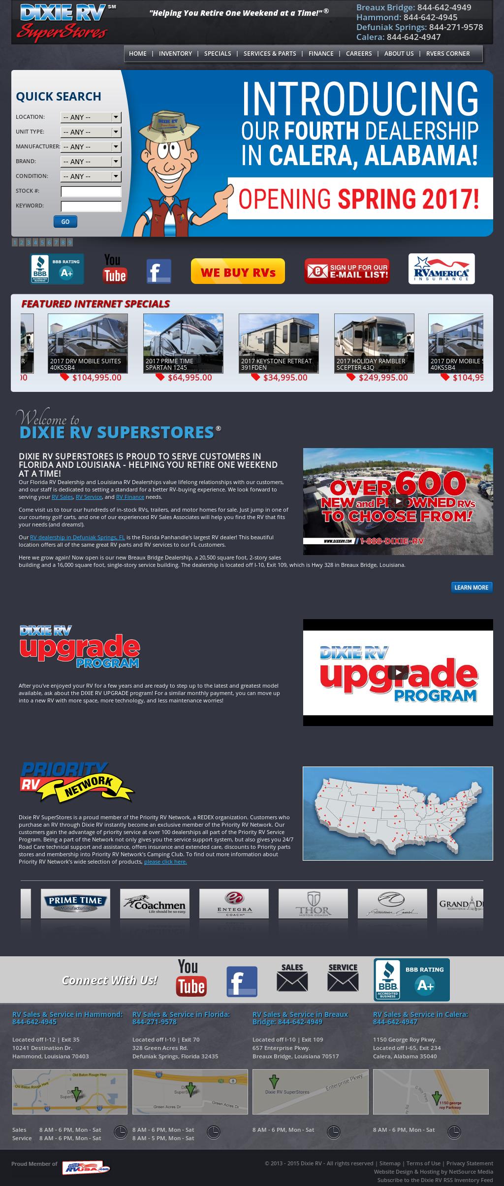 Dixie RV Competitors, Revenue and Employees - Owler Company Profile