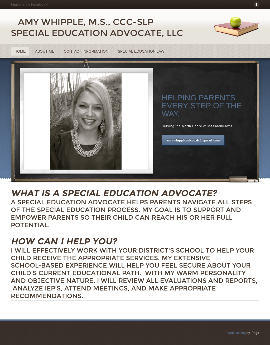 how to get a special education advocate