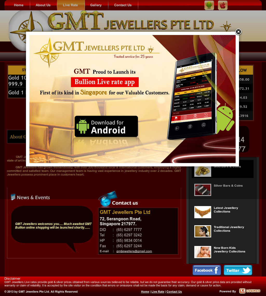 Gmt Jewellers Competitors, Revenue and Employees - Owler