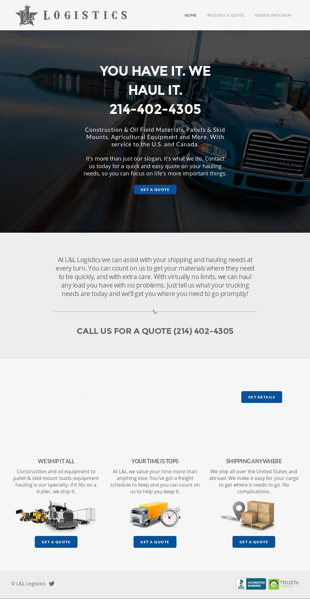 L&l Logistics petitors Revenue and Employees Owler pany Profile