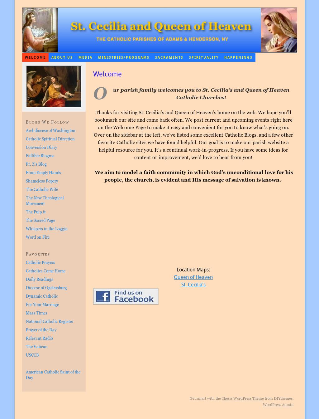 St  Cecilia/queen Of Heaven Roman Catholic Churches Competitors