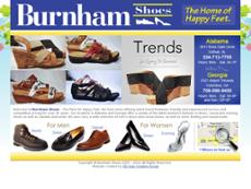 Burnham Shoes Website History