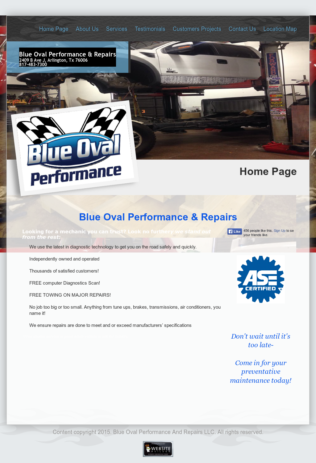 Blue Oval Performance Compeors Revenue And Employees Owler Company Profile
