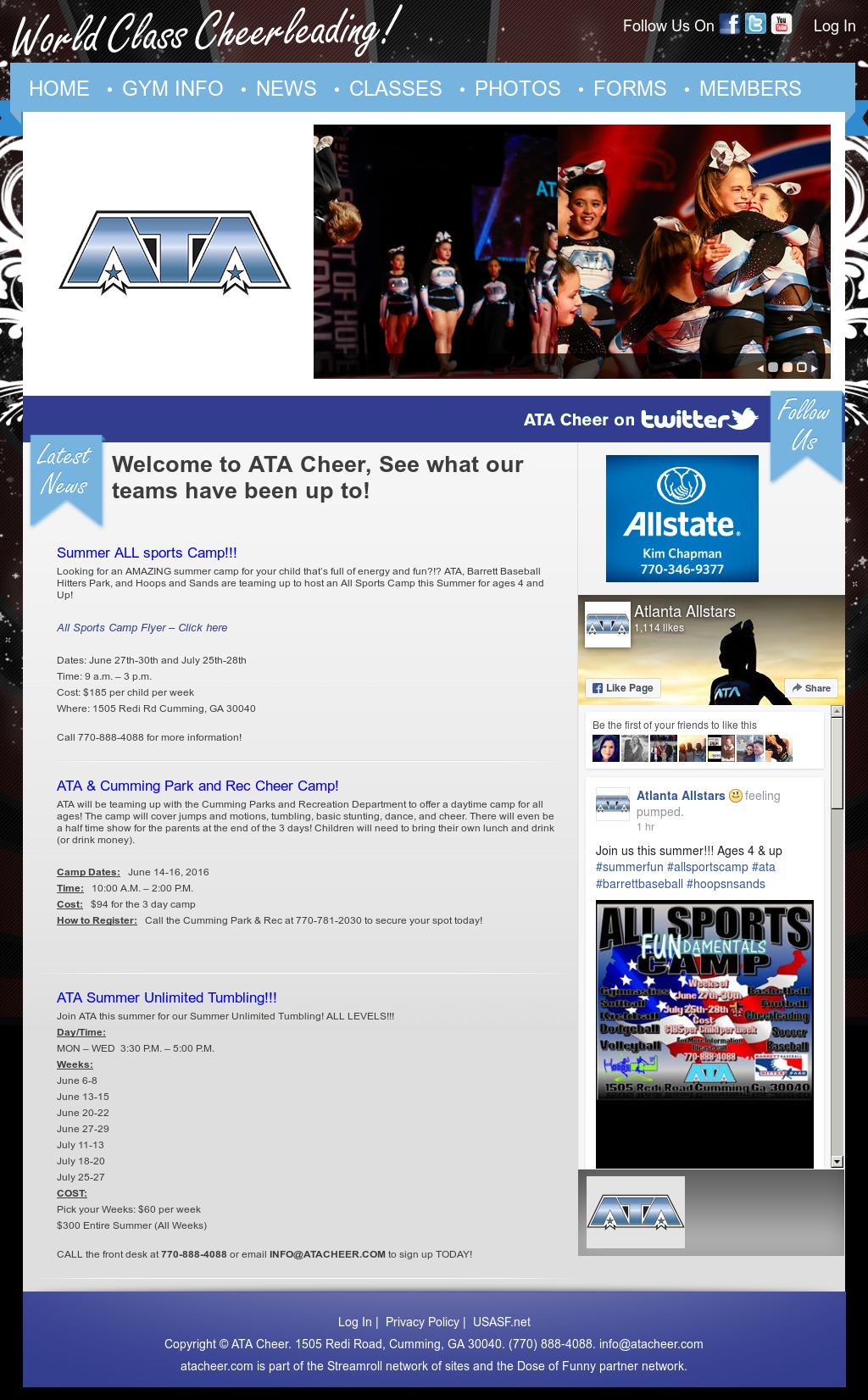 Ata Cheer Competitors, Revenue and Employees - Owler Company