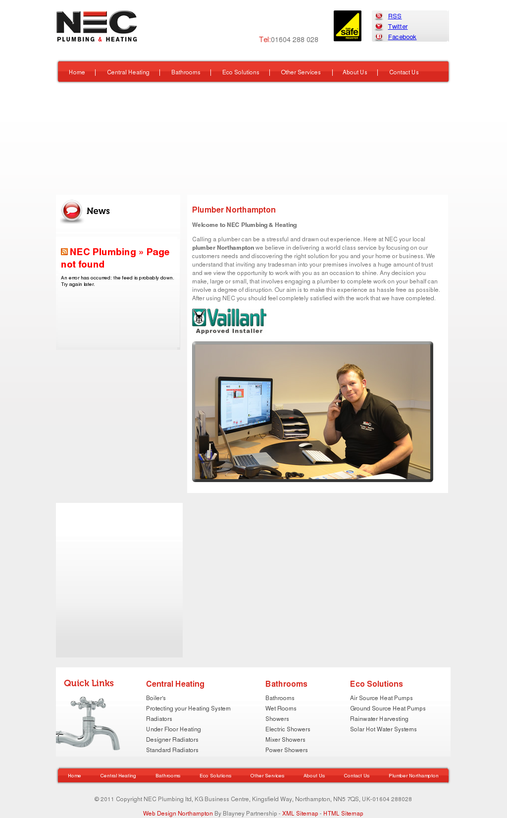 Nec Plumbing And Heating Competitors, Revenue and Employees - Owler ...