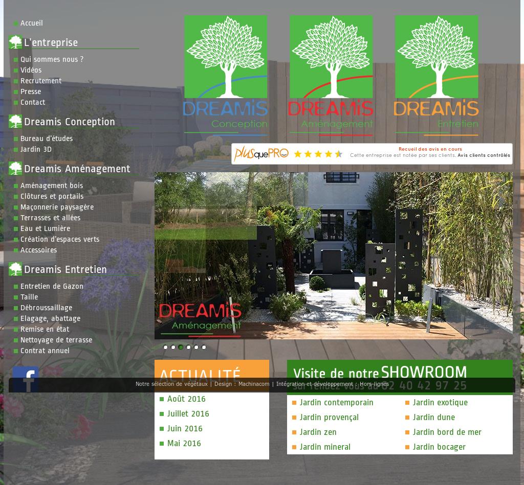 Jardin Mineral Zen Photo dreamis jardins et paysages competitors, revenue and