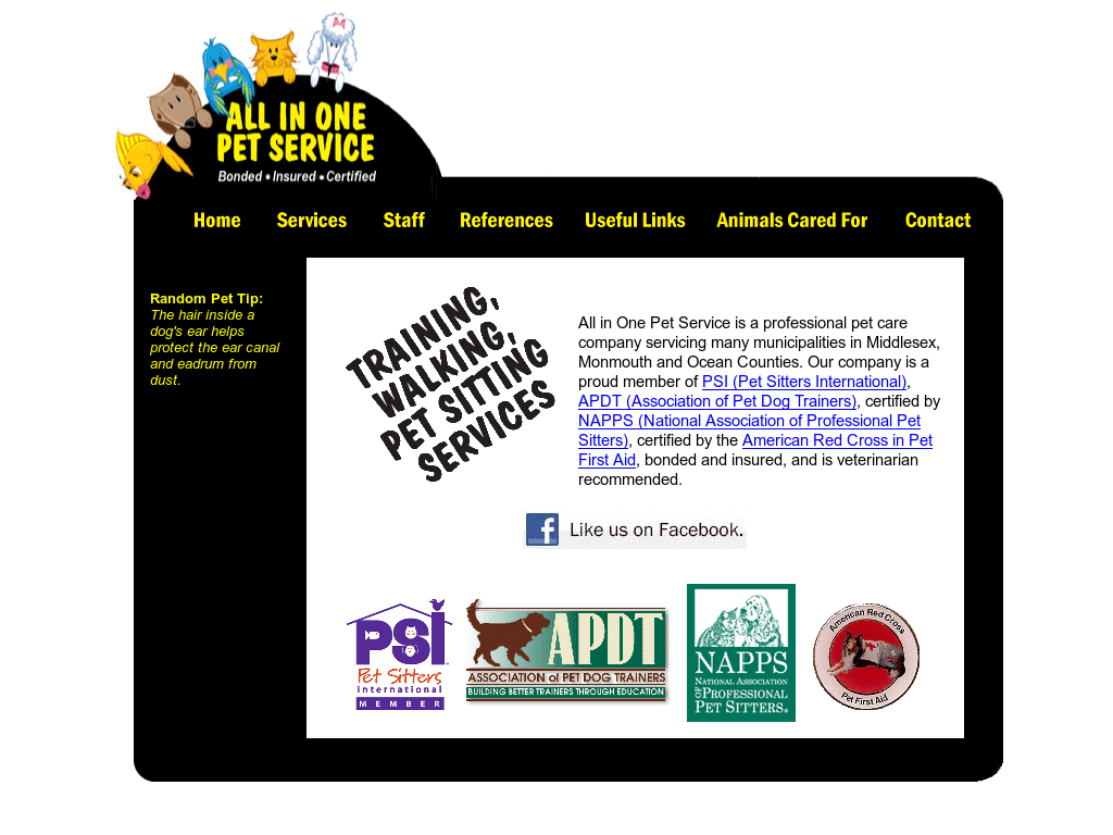 All In One Pet Service Competitors Revenue And Employees Owler