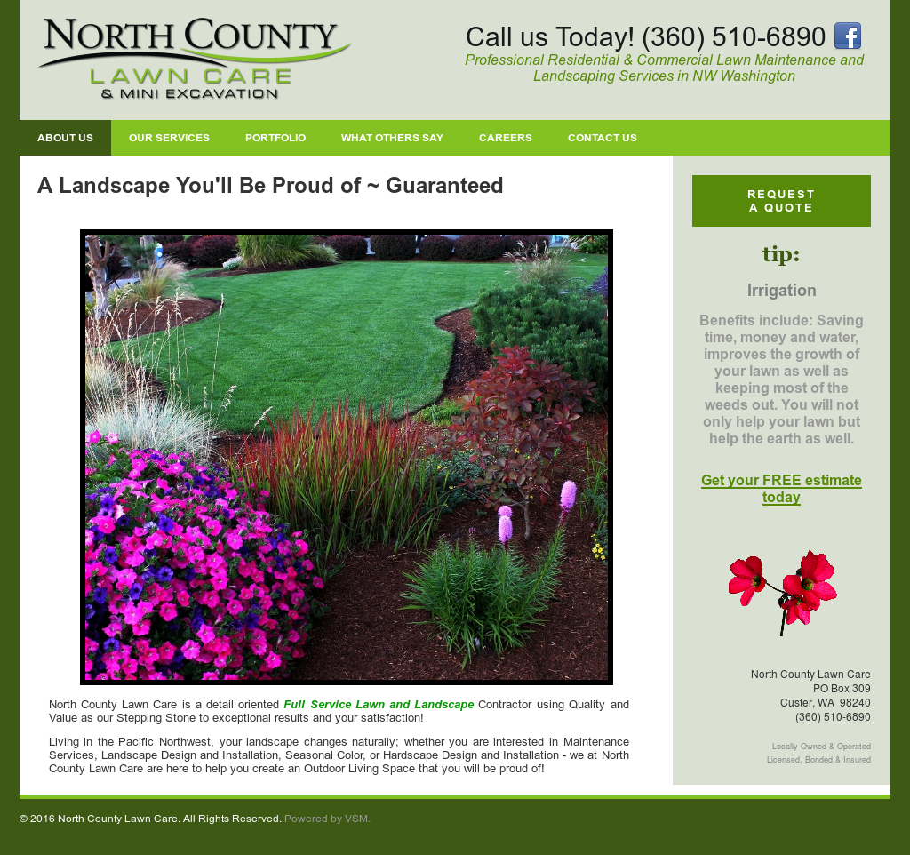 North County Lawn Care Compeors Revenue And Employees