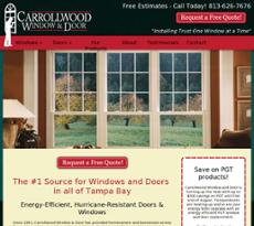 Carrollwood Window U0026 Door Competitors, Revenue And Employees   Owler  Company Profile