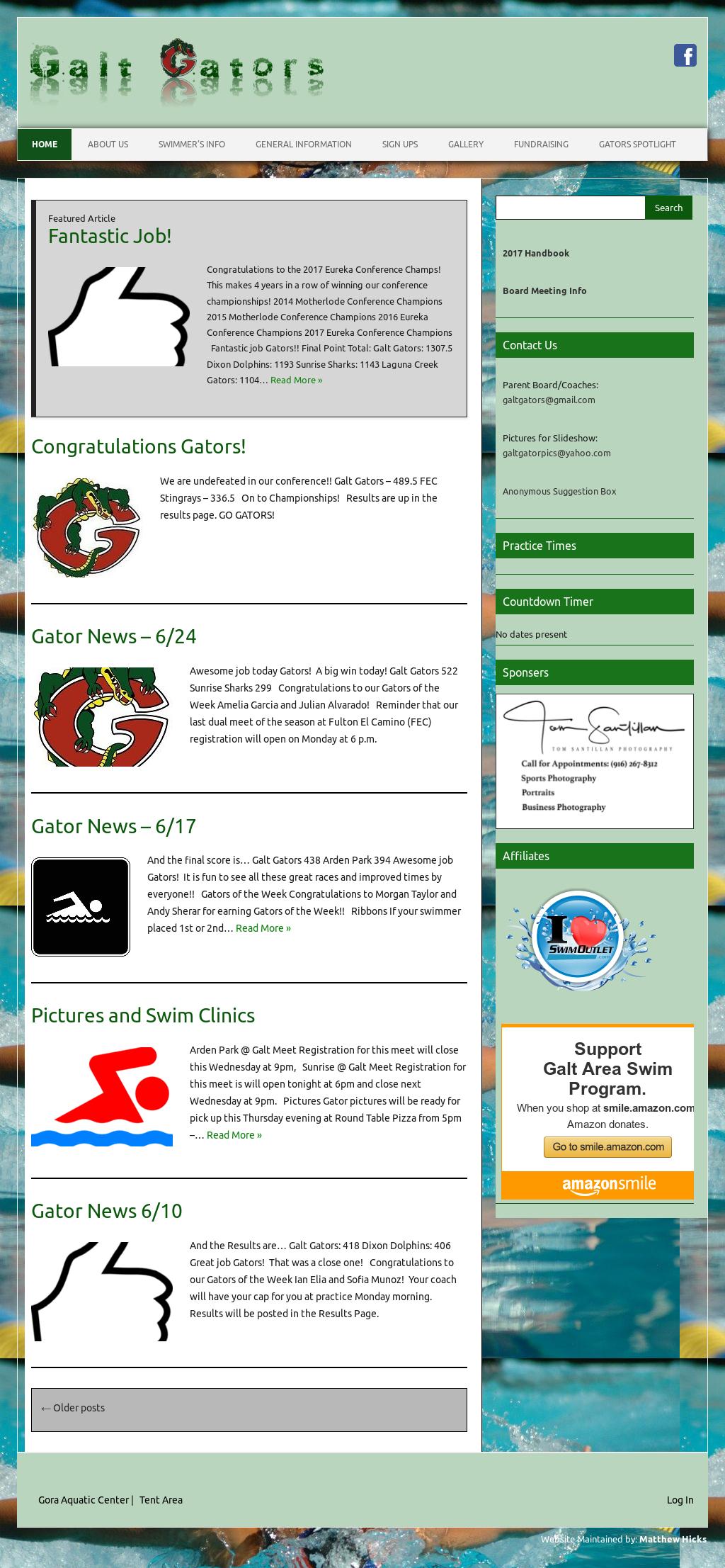 Galt Gators Swim Team Competitors Revenue And Employees
