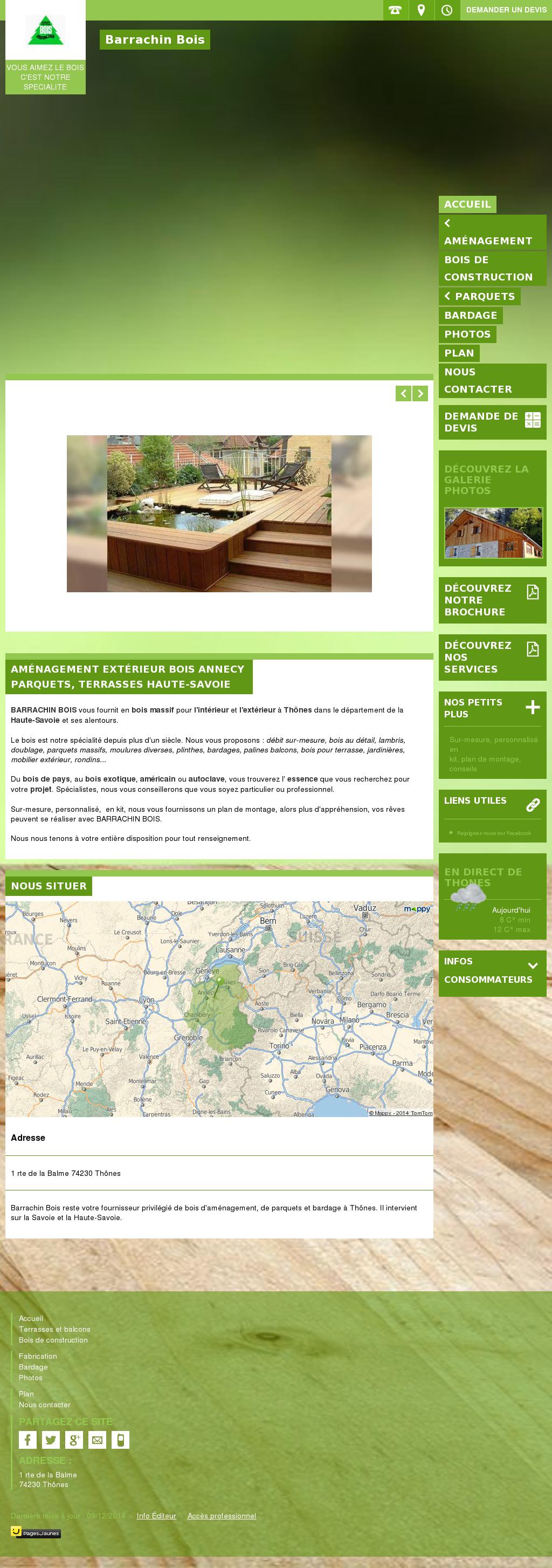 Construction Pergola Bois Plan barrachin bois competitors, revenue and employees - owler