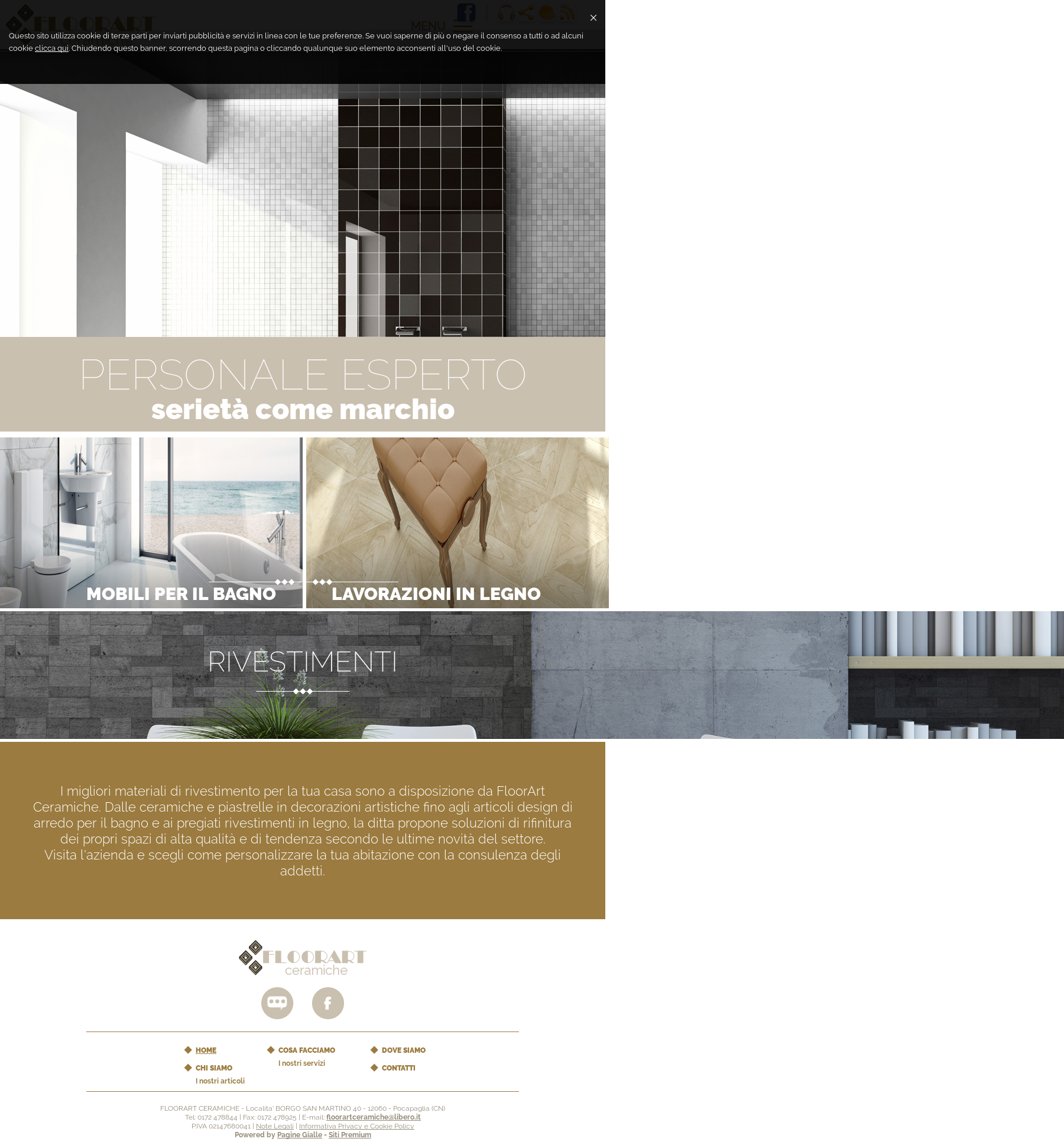 Rivestimento Casa In Legno floorart ceramiche competitors, revenue and employees