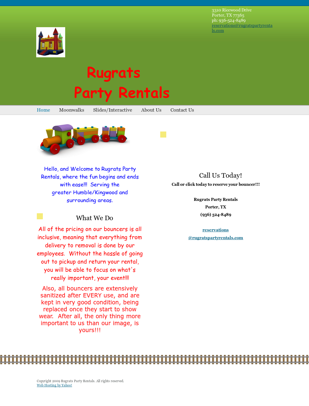 Rugrats Party Rentals Competitors, Revenue and Employees